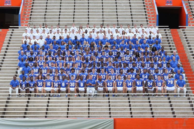 2017 University of Florida Football Team