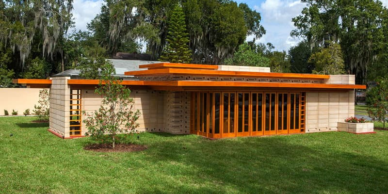 Frank Lloyd Wright Usonian Home at Florida Southern College
