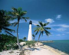 Lighthouse at Cape Florida Bill Baggs State Park