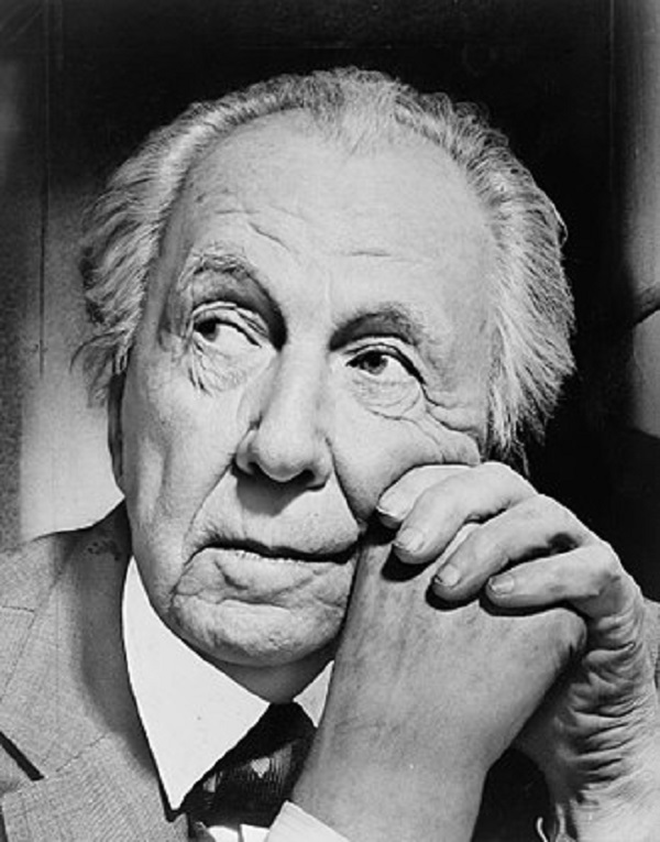 Frank Lloyd Wright in 1954