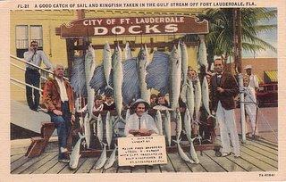 Fort Lauderdale Florida Vintage Postcard