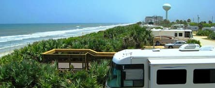 Gamble Rogers Camping Area