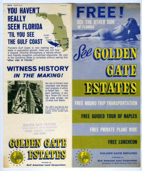 Golden Gate Estates Advertisement
