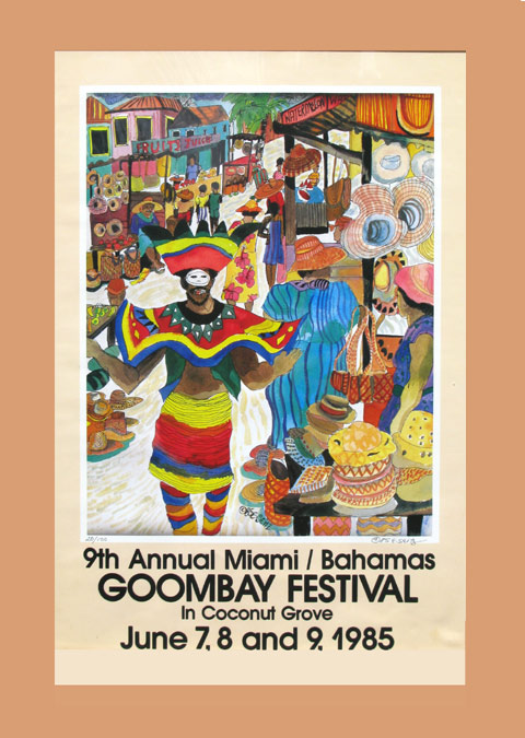 Goombay Festival Poster Coconut Grove
