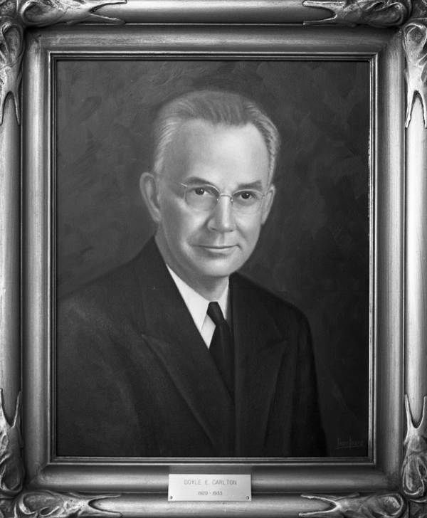 Governor Doyle Carlton