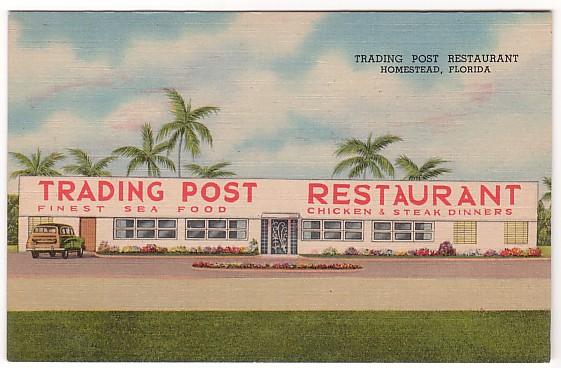 Vintage Postcard Homestead, Florida