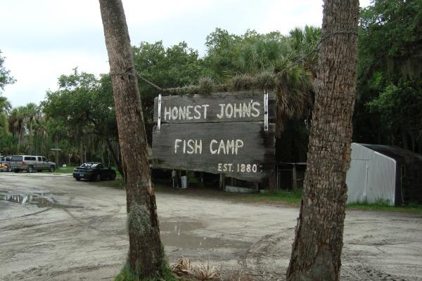 Honest John's Fish Camp Established 1880