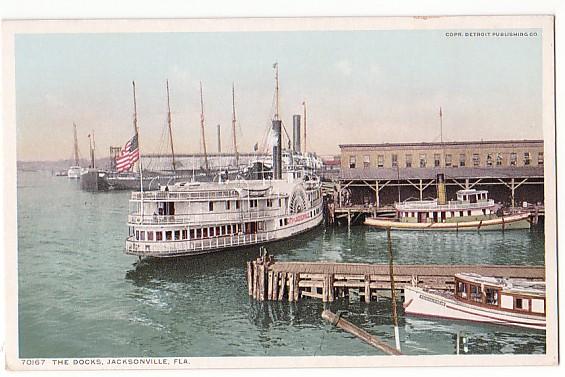 Vintage Postcard Jacksonville, Florida
