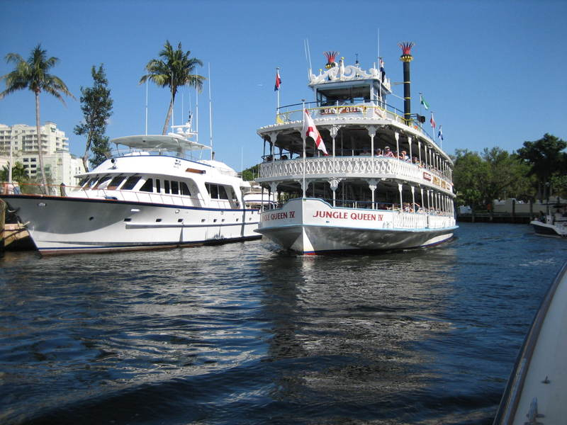 Jungle Queen on the New River in Fort Lauderdale
