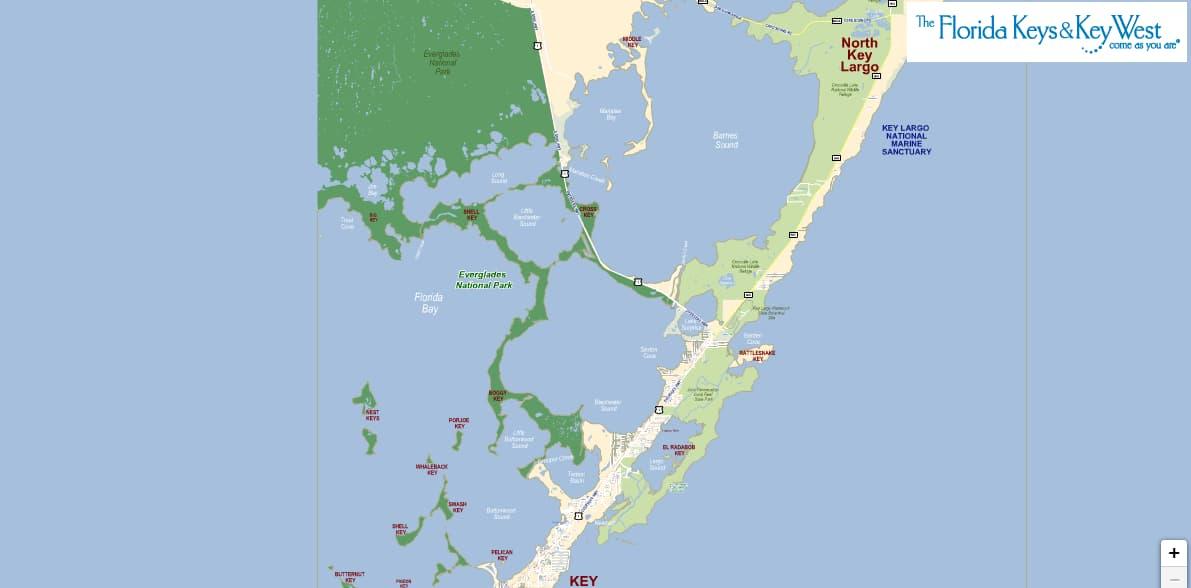Florida Keys Travel Tips and Interactive Maps on hawks key map, lakewood park map, ramrod key map, sunset key map, w palm beach map, miami map, chokoloskee map, hutchinson beach map, rockland key map, largo sound map, bradenton area map, anna maria island map, marco island map, rodriguez key map, florida map, daytona beach map, big pine key map, st. augustine beach map, no name key map, siesta key sarasota map,