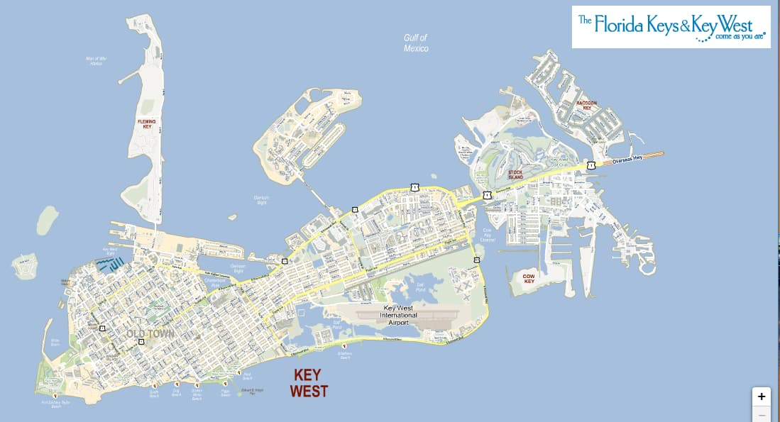 Interactive Map of Key West
