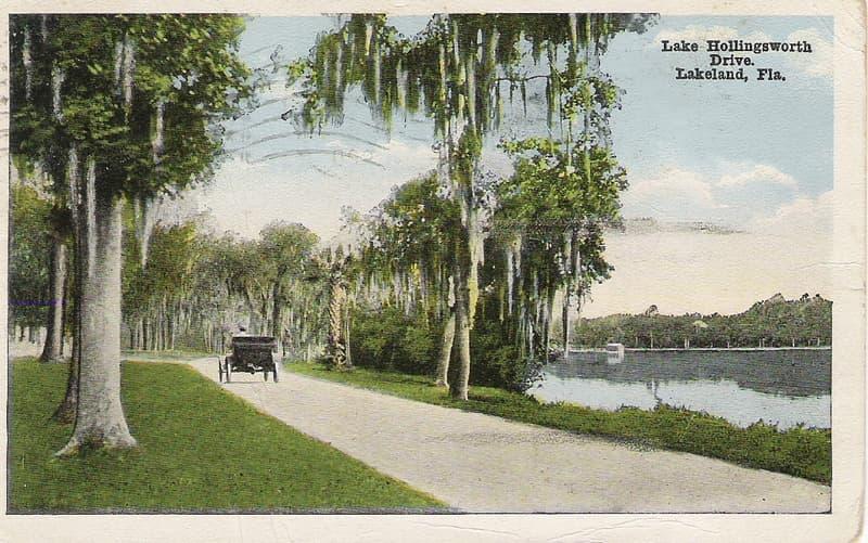 Vintage Postcard Lakeland, Florida
