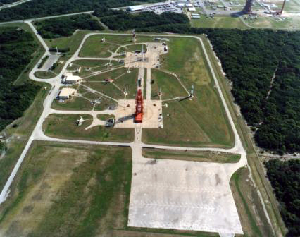 Launch Complex 26 at Air Force Space and Missile Museum, Canaveral Air Force Base