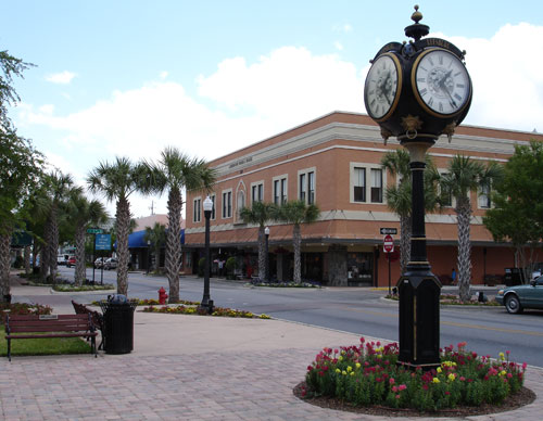 Downtown Main Street, Leesburg, Florida