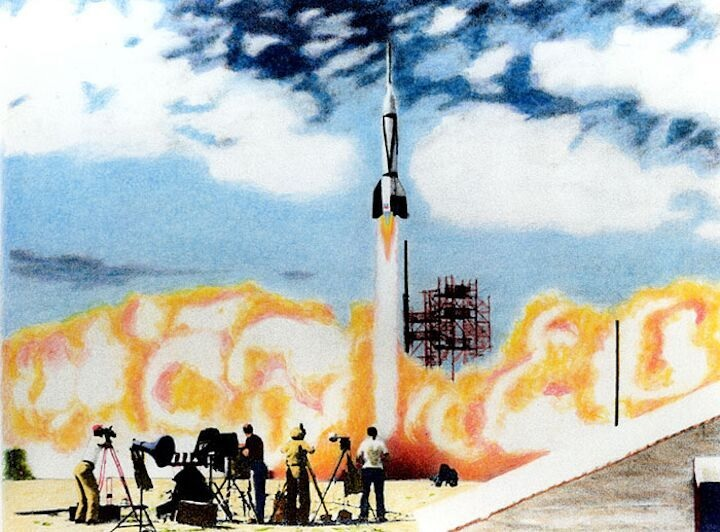 Bumper 2, First Launch From Cape in 1950