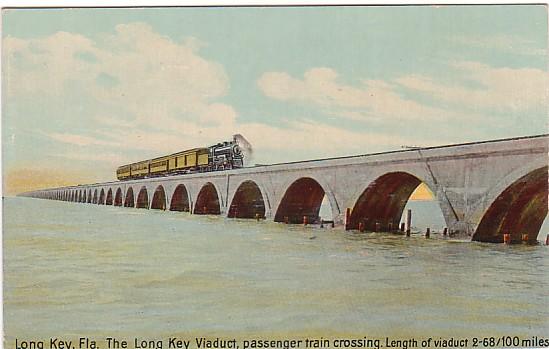 Vintage Postcard Long Key, Florida