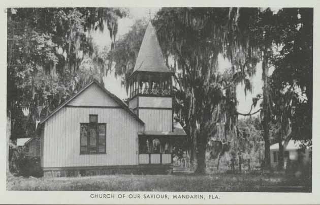 Mandarin Florida Vintage Church Postcard