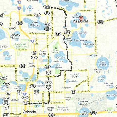 Central Florida Road Trips And Scenic Drives With Maps