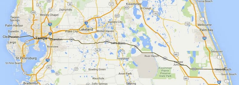 Florida Road Trips on the EastWest Highways