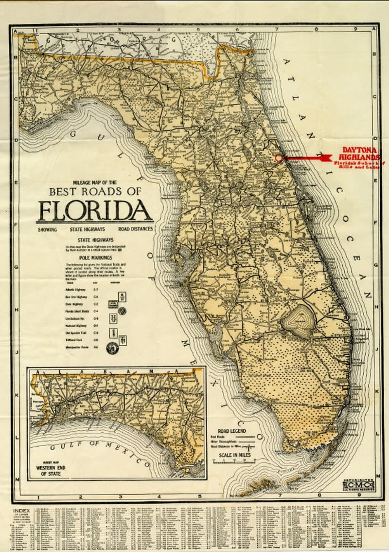 Best Roads of Florida 1915 - Florida Memory