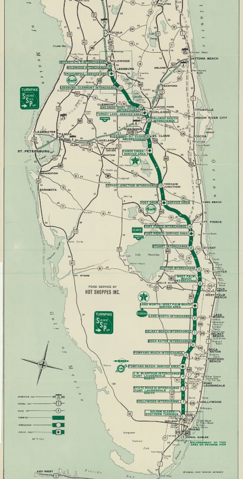 Florida Turnpike 1964 - Florida Memory