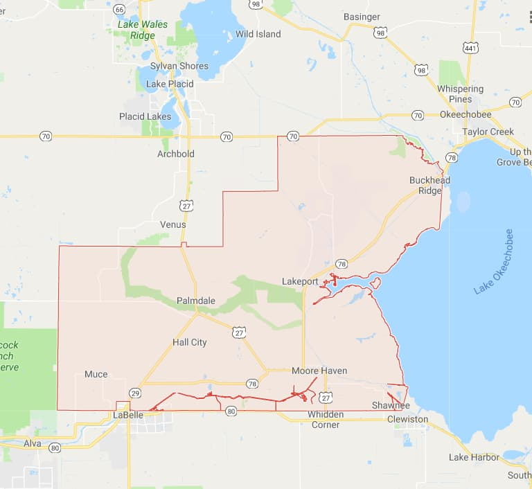 Florida County Map With Cities.Maps For All 67 Florida Counties And A Brief History Lesson