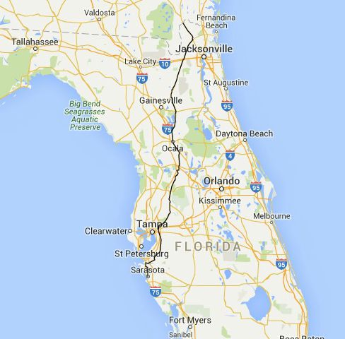 Road Trips On The North South Highways Through Old New Florida