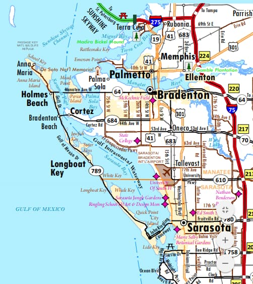 Florida City Maps: Interactive Maps For 167 Towns and Cities