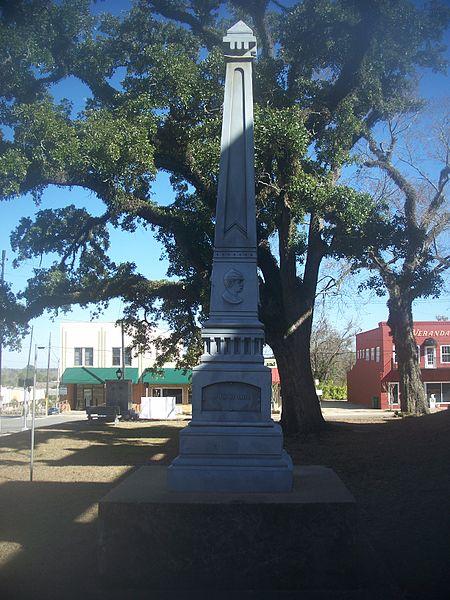 Marianna Florida Confederate Monument