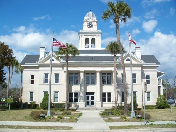 Lafayette County Courthouse, Mayo, Florida