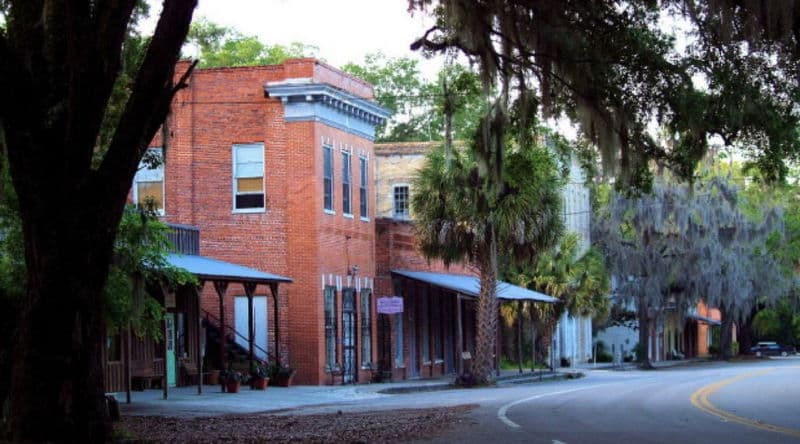 Micanopy Florida Historic Village Named For A Seminole Chief