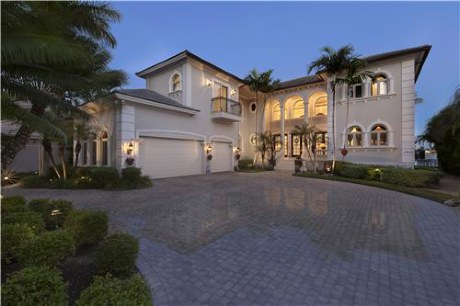 A Home in Old Naples Florida
