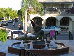 Naples, Florida Third Street Fountain