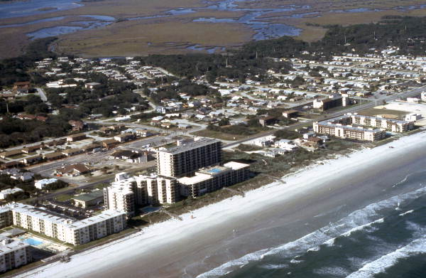 New Smyrna Beach Aerial View