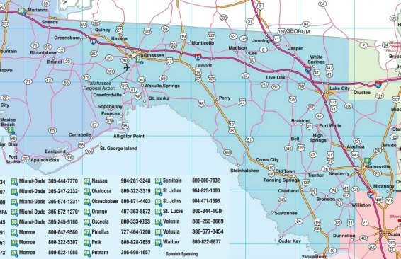 Northwest Florida Map.Florida Road Maps Statewide Regional Interactive Printable