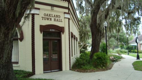 Oakland Florida Town Hall