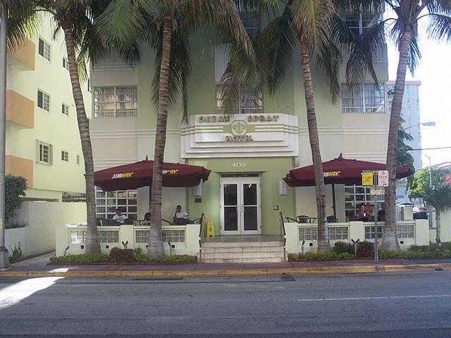 Ocean Spray Hotel in Miami Beach