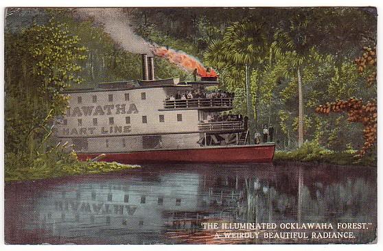 Vintage Postcard Ocklawaha River