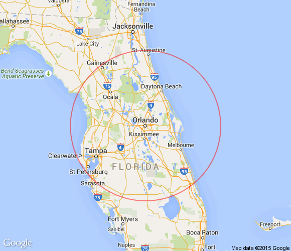 Distance From Boca Raton To Daytona Beach
