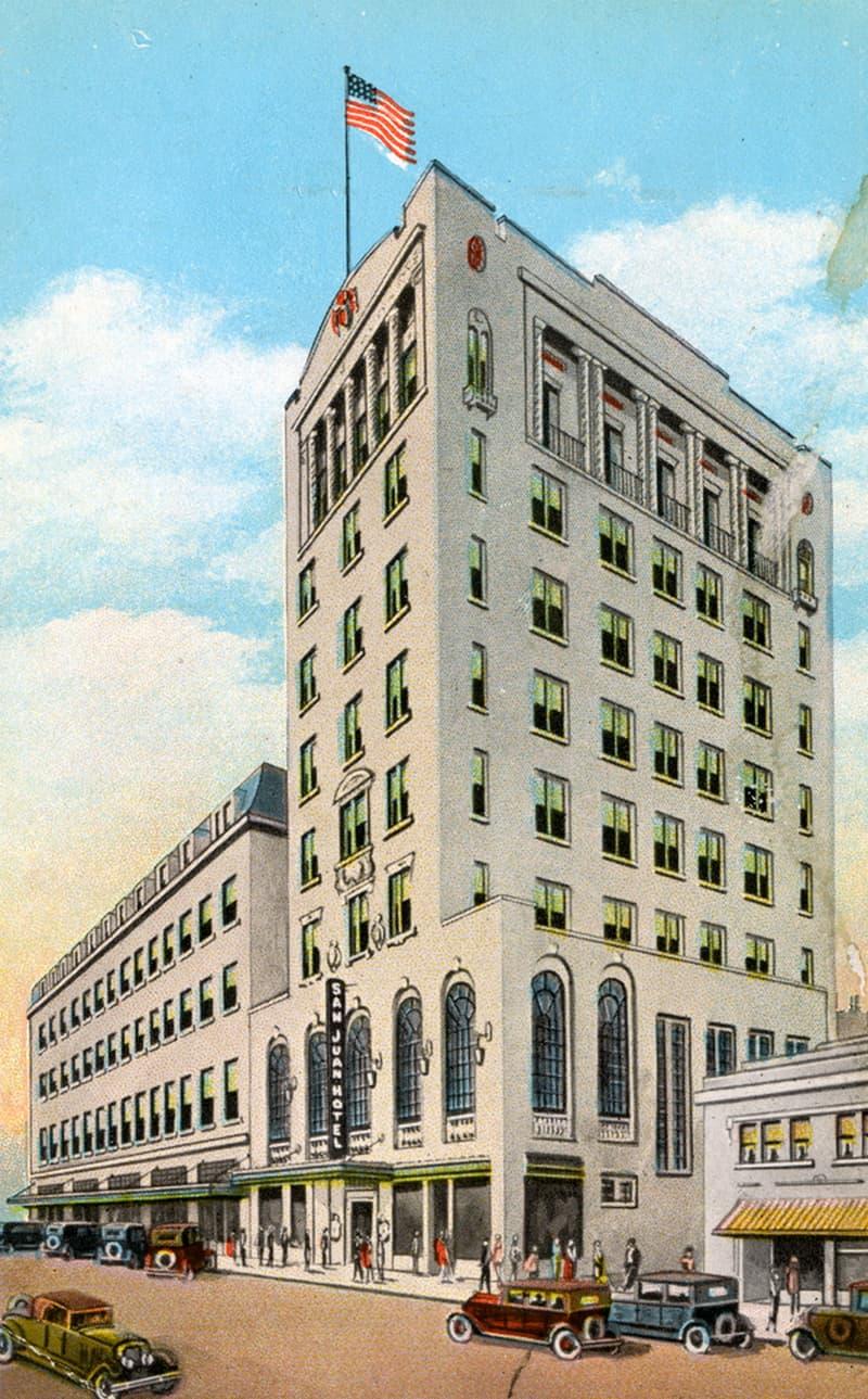 Orlando Florida San Juan Hotel Vintage Postcard