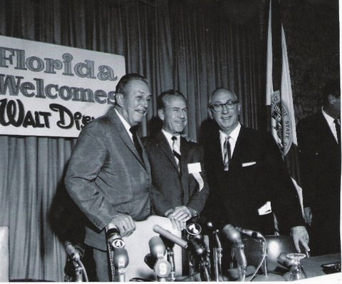 Walt Disney, Joe Potter, Roy Disney