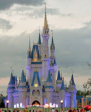 Walt Disney World Cinderella's Castle