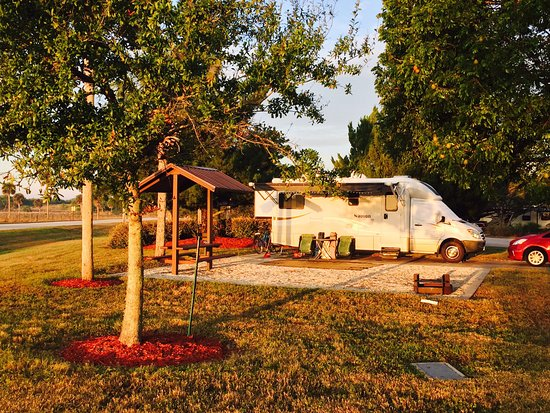 Ortona Lock Campsite on the Okeechobee Waterway