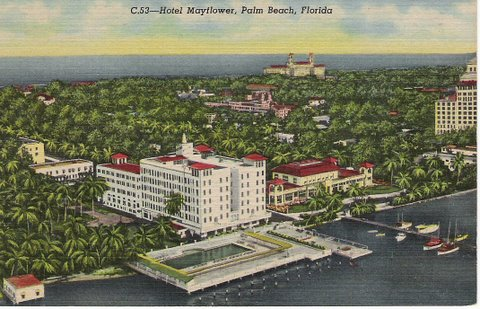 Vintage Postcard Palm Beach, Florida