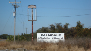Palmdale Florida Baptist Church Sign