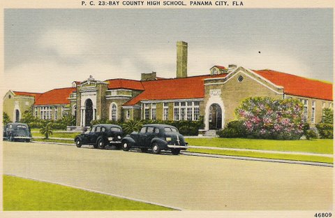 Vintage Postcard Panama City, Florida