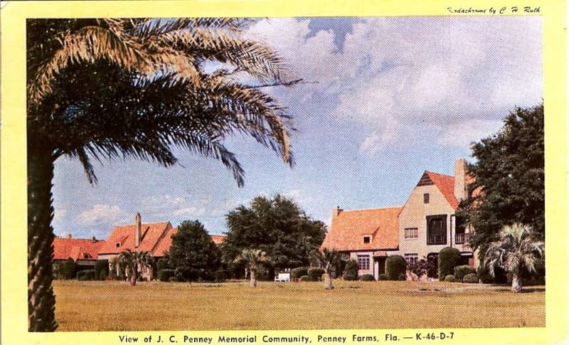 Vintage Postcard Penney Farms, Florida