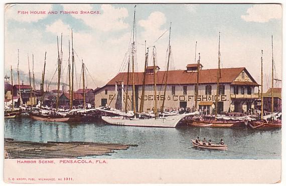 Vintage Postcard Pensacola, Florida