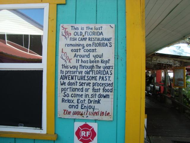 Hidden Treasure Rum Bar and Grill Sign