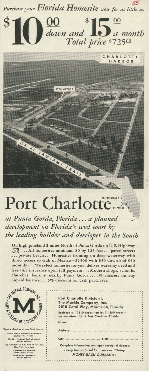 Port Charlotte Advertisement